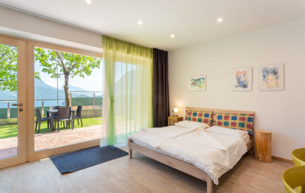 Appartamento verde : il monolocale